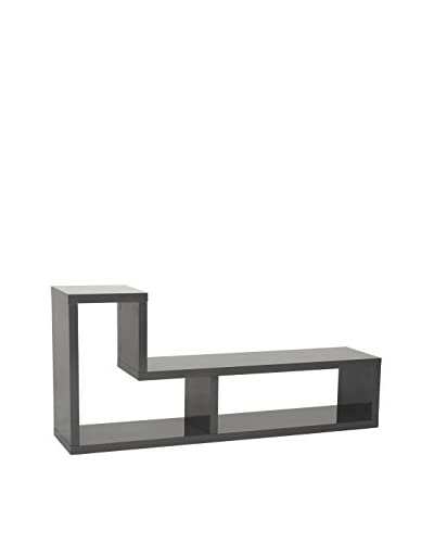 Euro Style Mervin Media Stand, Grey