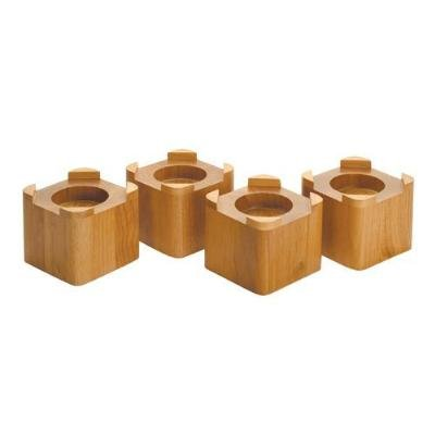Wood Bed Lifters (Honey Oak) (4.5