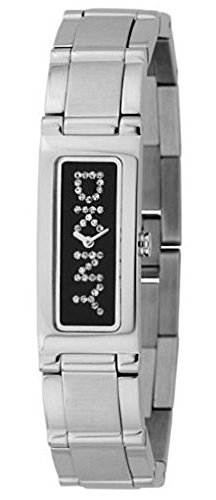 DKNY NY3408 - Reloj analógico de cuarzo para hombre con correa de resina, color negro