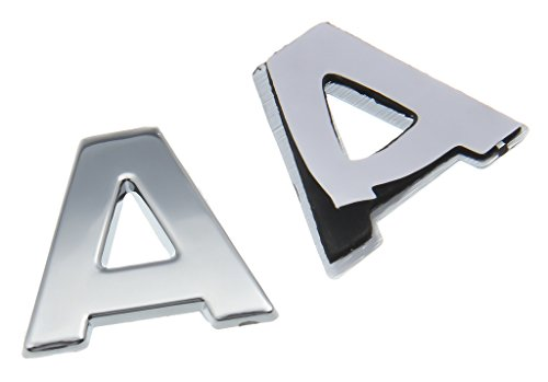 Autocollant 3D Emblème de La Voiture Auto Adhésif DIY Lettre et Numéro Placage (Forme14)