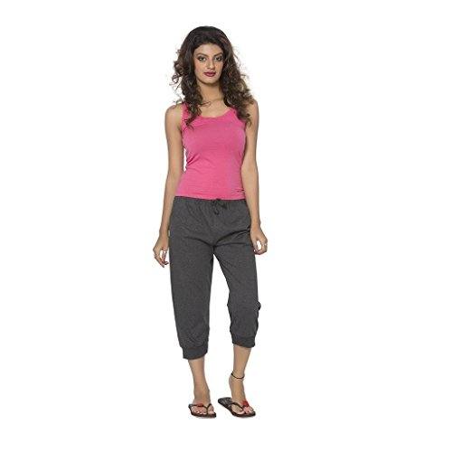 Clifton-Womens-Comfort-Capri-Charcoal-Melange