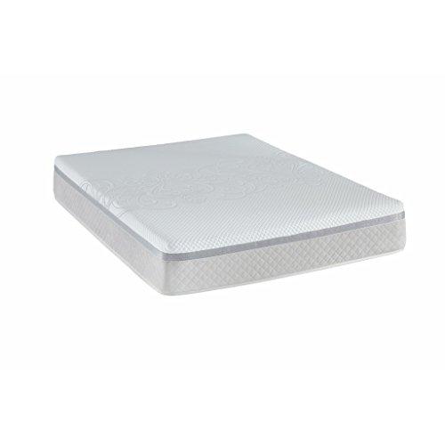 tempur-sealy-hybrid-classic-cama-con-somier-colchon-90-x-200-cm-29-cm-alto-gel-espuma-de-memory-y-fe