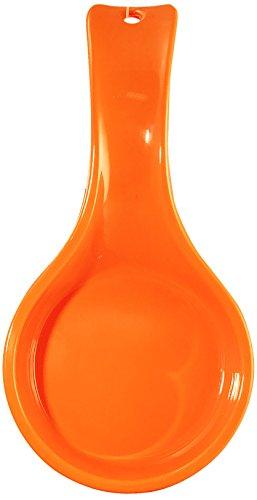 Calypso Basics by Reston Lloyd Spoon Rest, Orange (Rachael Ray Spoon Rest compare prices)