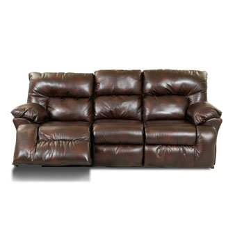 Klaussner Laramie Reclining Sofa In Raleigh Tobacco