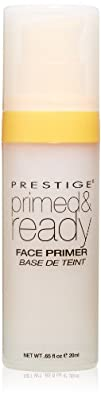 Prestige Cosmetics Primed and Ready Face Primer 0.65 Fluid Ounce