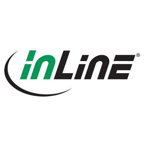 InLine SATA 6Gb/s Kabel, mit Lasche, 0,3m