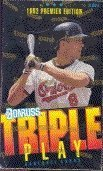 : 1992 Donruss Premier Edition Triple Play MLB Baseball Cards Unopened Box