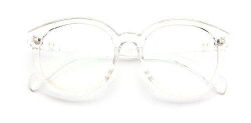 GAMT Vintage Oversized Oval Frame Eye Glasses Transparent (Old Glasses compare prices)