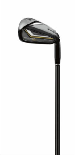 TaylorMade Men's Rocketbladez Max Iron Set, Left Hand, Graphite, Regular, 4-SW