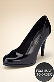 Limited Collection Patent Platform Court Shoes Size 8½ - 9