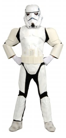 Costumes For All Occasions Ru83035Md Stormtrooper Child Dlx Medium