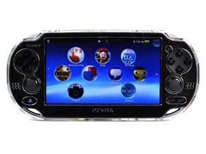 Cosmos ® Clear Crystal Protection Hard Case Cover For Playstation Ps Vita & Cosmos Brand Lcd Touch Screen Cleaning Cloth