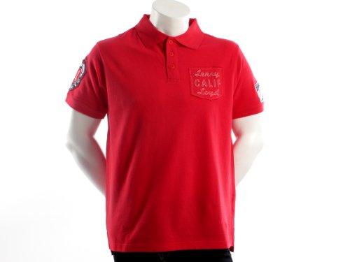 Lenny&loyd 26145terminal Straight Red Man Polo Shirts Men - M