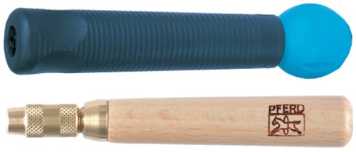 PFERD 16076 Wooden Needle File Handle With Quick-Clamp