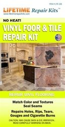 As Seen on TV Liquid Leather Vinyl Floor and Tile Repair Kit dark blue box