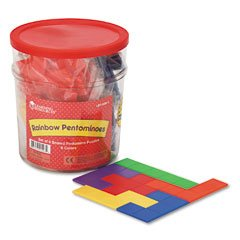 RAINBOW PREMIER PENTOMINOES - Buy RAINBOW PREMIER PENTOMINOES - Purchase RAINBOW PREMIER PENTOMINOES (Learning Resources, Toys & Games,Categories)