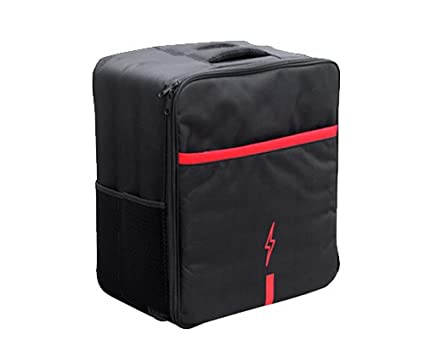 16.1 '' x 13 '' x 18 '' Nylon Durable Outdoor Sport Voyage sac de transport Stockage Soft Case Sac à dos avec personnalisée en mousse EVA pour Parrot Drone 3.0 Bebop Quadcopter avec Space de la télécommande - Noir (Large)