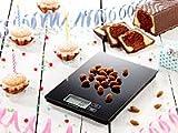 PEARL Präzise Digitalwaage für Küche und Büro (bis 5 kg) -