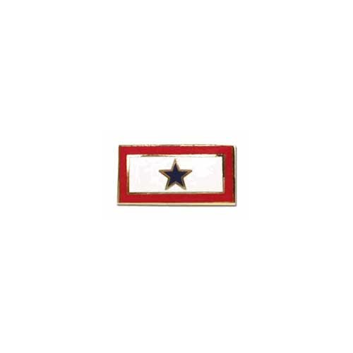 US Flag Store Service Blue Star Flag Lapel Pin (Lapel Flag Pin Us And Services compare prices)