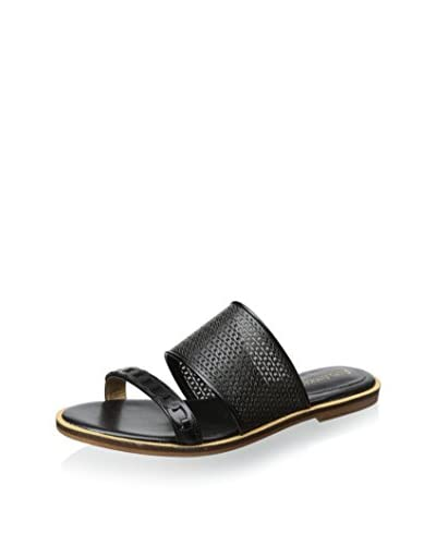 Enzo Angiolini Women's Jioni Flat Sandal  [Black]