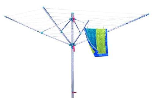 Alu-Wäschespinne inkl.Bodenhülse mit Schanierdeckel günstig online kaufen