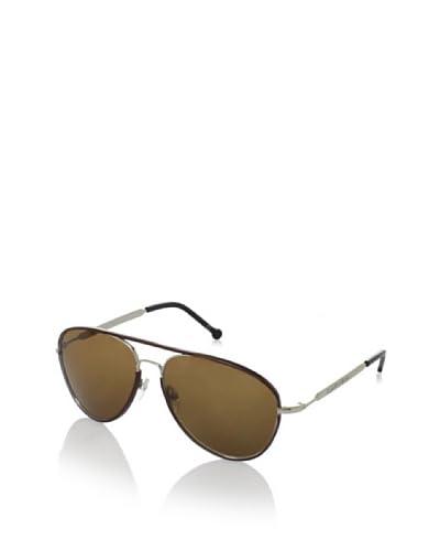 Carven Women's Rose Sunglasses, Burgundy/Silver