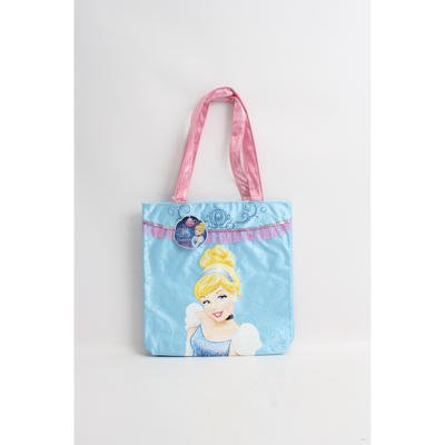 "Disney's Cinderella Embroidered 12"" Tote Bag - Reusable - 1"