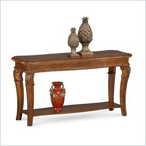 Cheap Wynwood Cordoba Sofa/Console Table in Burnished Pine (1635-08)