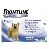 Frontline Spot On Flea Drops Medium Dog 10-20kg 6Pk