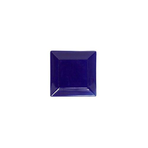 "Tuxton Bch-1016 10.125"" Square Series Cobalt Blue Plate - 12 / Cs"