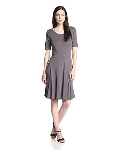 Three Dots Women's Crew Neck Dress