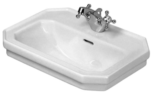 Duravit 0785500000 1930 Series Single-Hole Handrinse Basin, White Finish