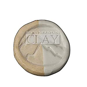 5lb Pottery Clay: Best Mix- BMix - BMX - Mid Fire Cone 5-7 - Rocky Mountain Clay (Color: White, Tamaño: 5lb)