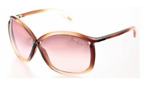 Tom Ford Tom Ford Charlie FT0201 Sunglasses-50F Brown Fade (Brown Gradient Lens)-64mm