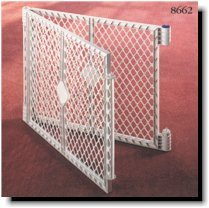 Pet Yard Plastic Exercise Pen Expansion Panel, 2-Piece, Gray