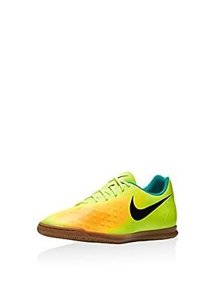 Nike Zapatillas Magistax Ola II Ic (Lima / Negro / Naranja)