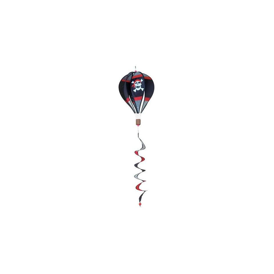 Jolly Roger 16 inch Hot Air Balloon Spinner