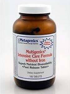 Metagenics Multigenics Intensive Care-Iron180 Tabs