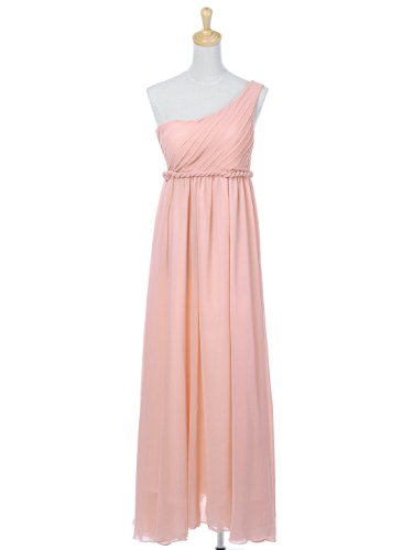 Anna-Kaci S/M Fit Pastel Pink Roman Influenced Regal Princess Braided Dress