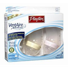 Playtex Ventaire Wide Bottle - Girl - 9 Oz - 3 Ct front-967682