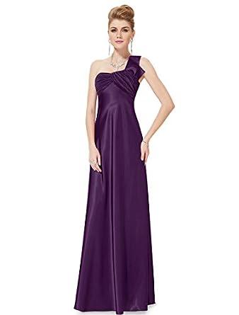 HE09667DP06, Deep Purple, 4US, Ever Pretty Bridesmaid Dresses Women 09667