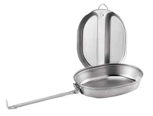 Rothco Military Style Stainless Steel Camping Mess Kit