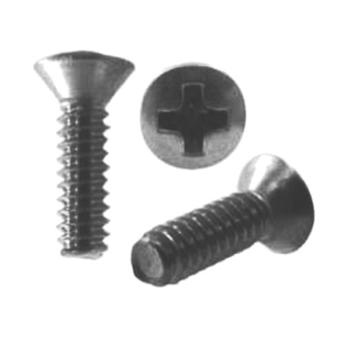 Kichler Lighting 10299BK Steel Screw, Black, 100 Per Box