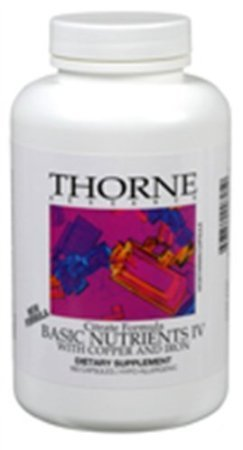 Thorne Research - Basic Nutrients Iv (With Copper & Iron) - 360Ct