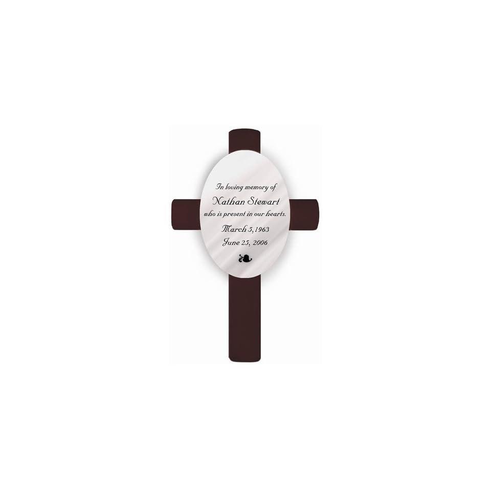 Personalized Memorial Cross In Loving Memory
