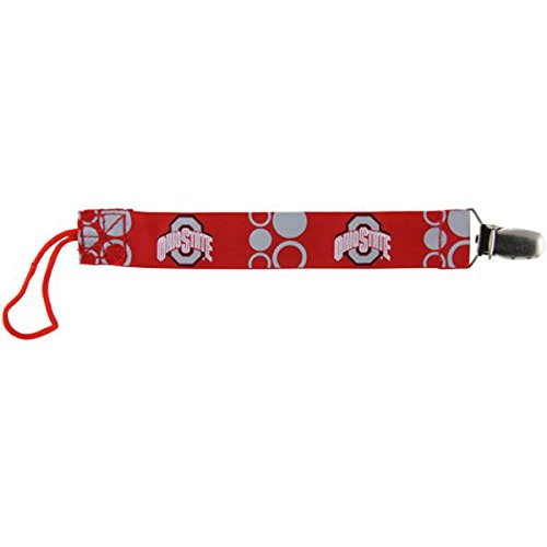 Baby Fanatic Pacifier Clip, Ohio State back-966741