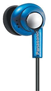 Panasonic RP-HJE270EBA iPod Nano Matching Headphone - Blue
