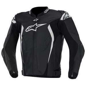 ALPINESTARS GP Tech Jacket Leather Black/White Medium