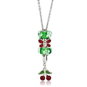 Pugster Green Murano Glass Beads 18