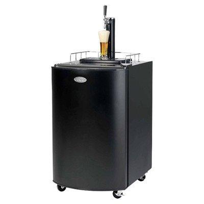 Nostalgia Electrics KRS2100 Kegorator Commercial Beer Keg Fridge, Black